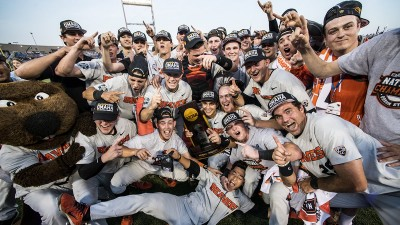 At The Surface of Oregon State's Third College World Series Title