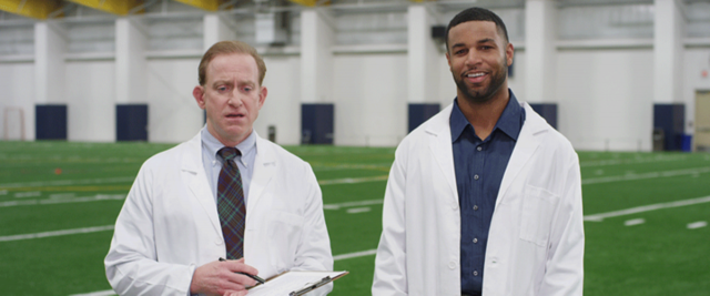 "Detroit Lions Golden Tate Gets ""PhD in Demystifying Complex Athlete Safety Data"" in FieldTurf Campaign"