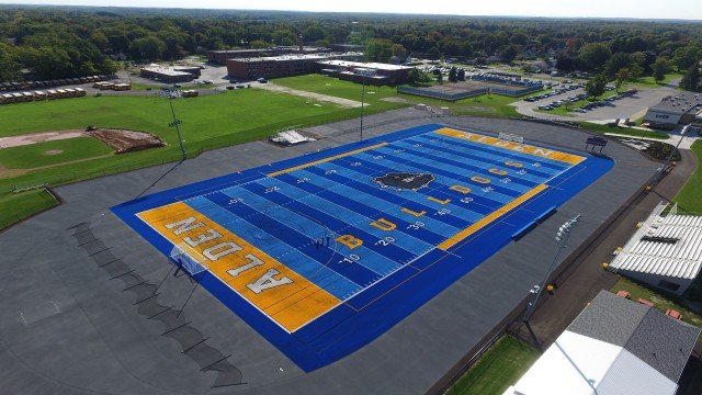 Out With The Old, In With The Blue - Bulldogs Break The Mold With New Blue Surface