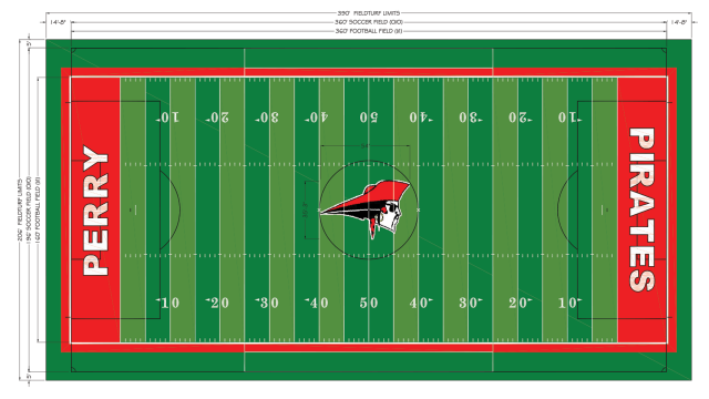 Perry High School Prolongs 25+ Year Partnership With FieldTurf: Trust, Safety And Performance Weigh The Scales