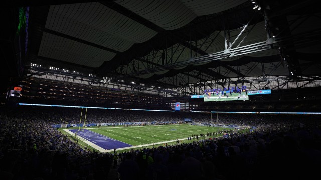 Detroit Lions Announce New Fieldturf At Ford Field