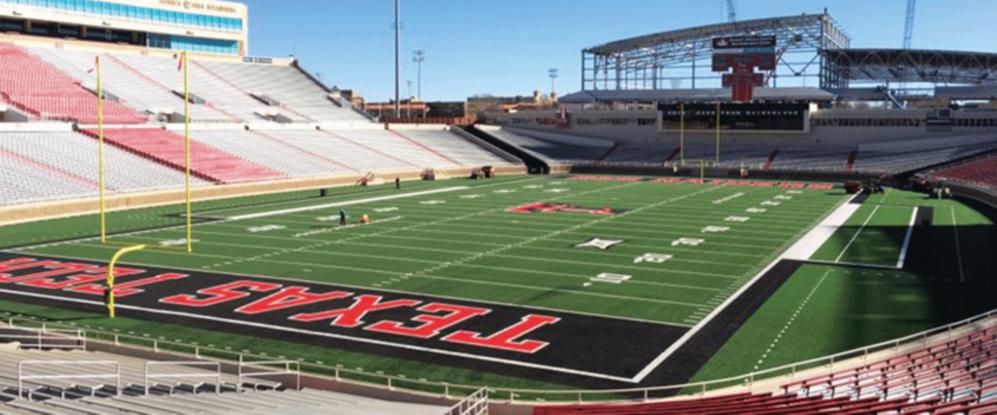 Texas Tech Replaces 11 Year Old Fieldturf Field Fieldturf