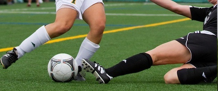 Women's Collegiate Soccer study concludes less severe and