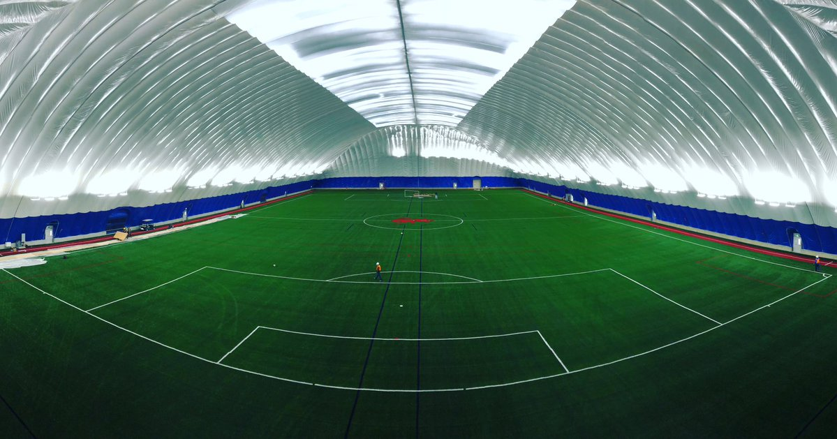 One Of North America S Largest Indoor Sports Domes