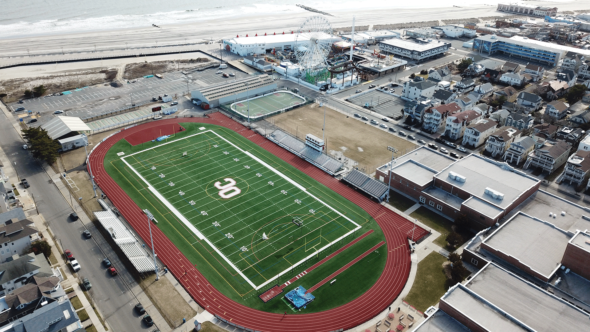 FieldTurf's Popularity in New Jersey Continues as Ocean City HS Welcomes New Field - FieldTurf